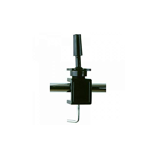 Übungskopfhalter zum Schrauben schwarz aus Kunststoff