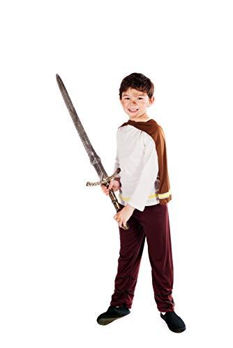 Fun Shack Déguisement pour Enfant Costume de Viking Marron pour Garçon - Taille XL