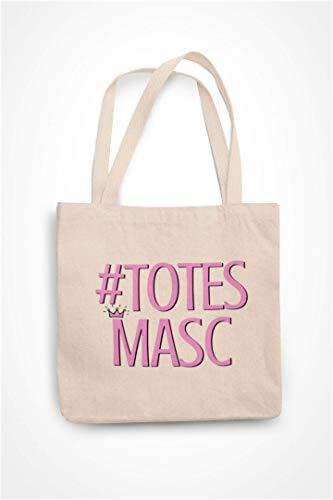 Funny Gay Totebag - Hashtag Totes Masc - Novelty Gay/LGBT Shopping Bag