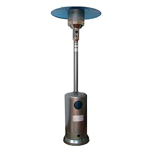 Cheap Stainless Steel Floor-Standing Propane Patio Heater Propane Outdoor Heater with Wheels Garden ...