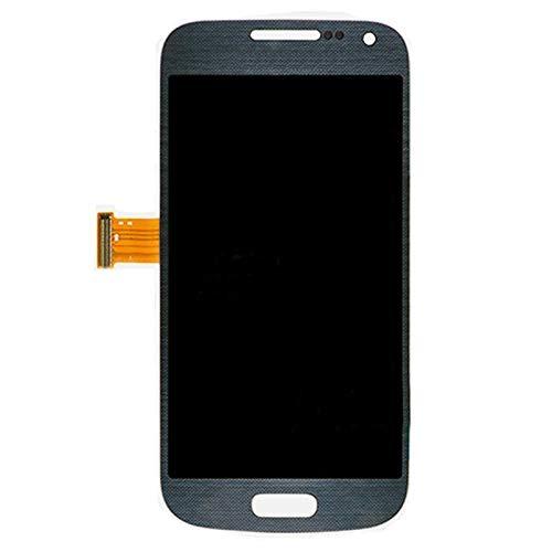 Bjhengxing Reemplazo de Pantalla for Samsung Galaxy S4 Mini, Pantalla LCD y ensamblador Completo del digitalizador for Galaxy S IV Mini / i9195 / i9190 (Blanco) (Color : Black)