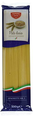 mamma lucia Pasta Spaghetti No. 5, 20er Pack (20 x 500 g)