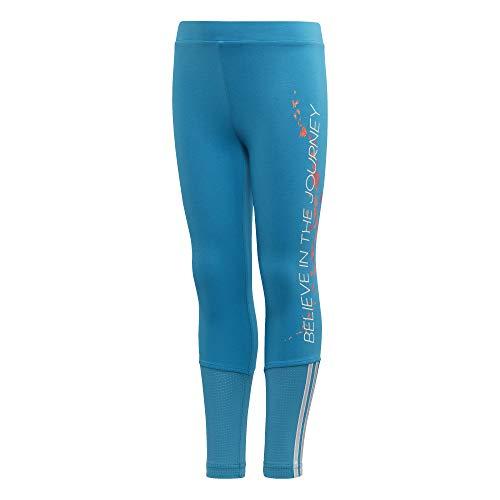 Adidas LG Dy Fro Tight Leggings, voor baby/kinderen, aqua/brgrcl, 92 (1/2 jaar)