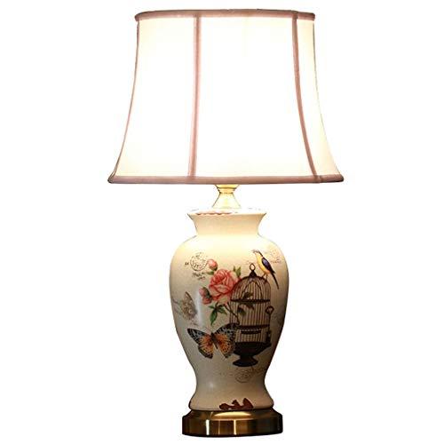 AILI Lampade da Tavolo Lampade da Scrivania Lampada Classica Lampada da Soggiorno Cinese Lampada in Ceramica Lampada Dipinta a Mano Modello Lampada Artistica Rottura Illuminazione per Interni