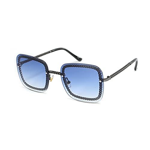 xzl Gafas de sol polarizadas para mujer, protección oscura, polarizadas de gran tamaño, moda vintage, gafas de sol polarizadas clásicas, 100% protección UV, B