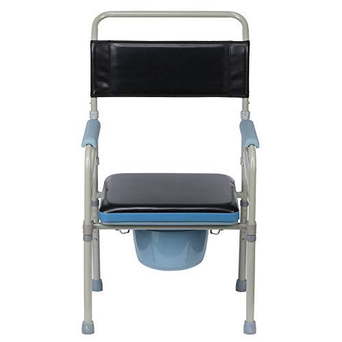 Baño Silla Embarazada Mujer Discapacitado Móvil Baño Silla de Ruedas Casa Cuidado Bañera Silla Robusto Y Práctico / A1 / 55x45x105cm