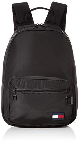 Tommy Hilfiger - Backpack, Mochilas Hombre, Negro (Black), 1x1x1 cm (W x H L)