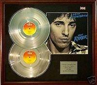 Bruce Springsteen - El río - disco de platino - doble LP + funda.