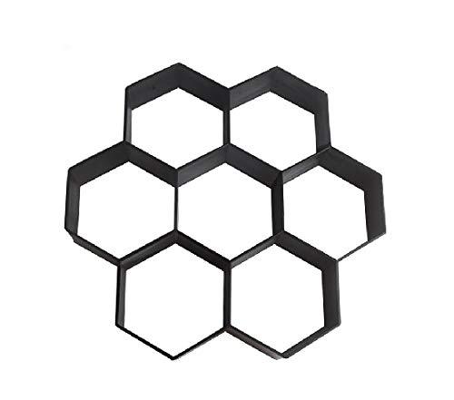 LIANYG Gehweg Schablonen Garten DIY Kunststoff Pfad Maker Pavement Modell Betonstein Stepping Cement Mold Brick Formen for Zement Mold Garten Dekoration Betonformen (Color : B)