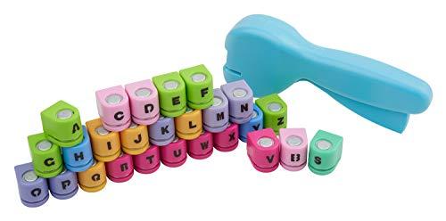 VBS Stanzzange mit 26 Stanzmotiven, Buchstaben