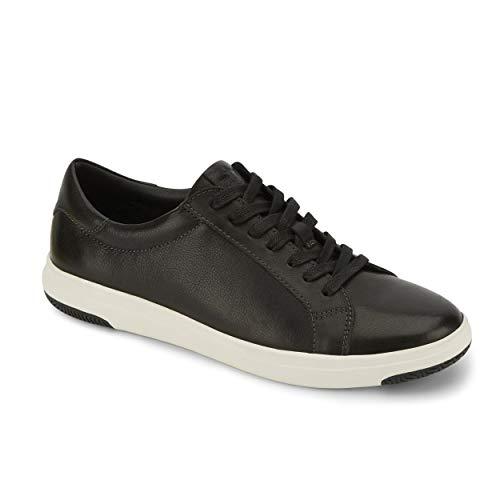 Dockers Mens Gilmore Leather Casual Fashion Sneaker Shoe, Black, 10 M
