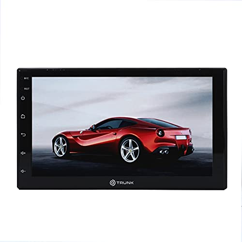 Trunk Audio Universal 7 Inch Touch Screen Multimedia Entertainment System for with GPS Navigation 1080p Support   16GB in Built Flash Memory
