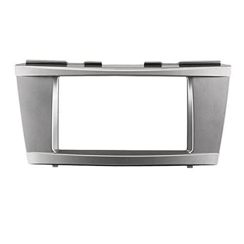 HMEILI Car Stereo Radio DVD Panel Audio montaje Fascia Kit para Toyota Camry Aurion DVD Reajuste Marcos Dash Kit