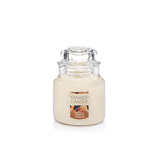 Yankee Candle French Vanilla Small Jar Candle, Food & Spice Scent