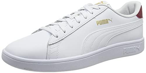 PUMA Smash v2 L, Scarpe da Ginnastica Unisex-Adulto, Bianco White White, 43 EU