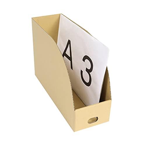 アースダンボール ダンボール 段ボール 収納 A3 ストッカー 保管 10枚 【147×441×295mm】【0323】