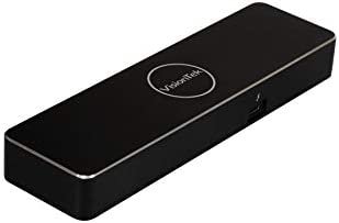 VisionTek VT5000 Dual 4K Thunderbolt 3 Laptop Docking Station
