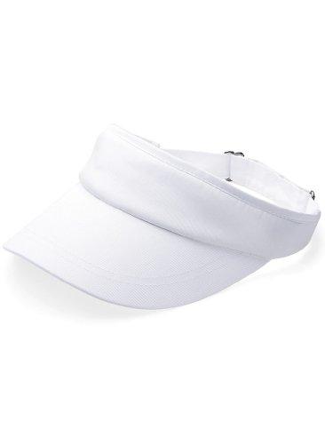 Beechfield Beechfield Unisex Sport Visor Cap B41 one size,White