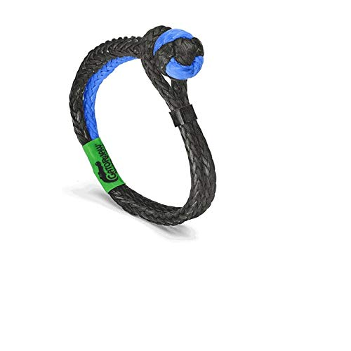 Bubba Rope Gator-JAW NEXGEN PRO Synthetic Shackle Blue & Black