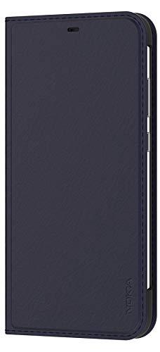 Original Nokia Entertainment Flip Cover 'CP-281' für Nokia 8.1, Tempered Blue