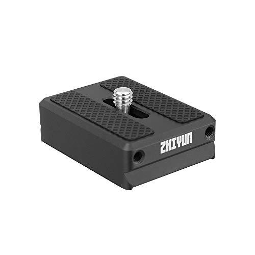 Zhiyun Transmount 1,5 cm base di supporto fotocamera a sgancio rapido adattatore per Zhiyun Weebill Lab/Crane 2/Crane V2 /Crane Plus/Crane-M Stabilizzatore Gimbal accessorio