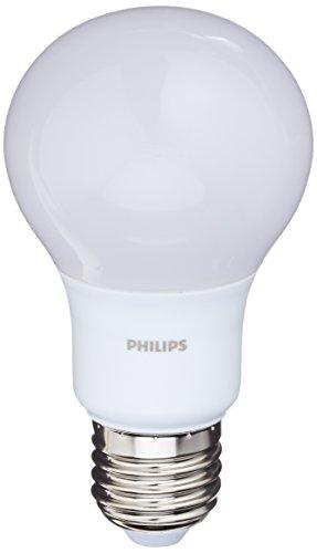 Philips 929001234361 – verbruikt LED estándar-lamp E27, 8 W (komt overeen met 60 W), warmwit, niet dimbaar, set van 2