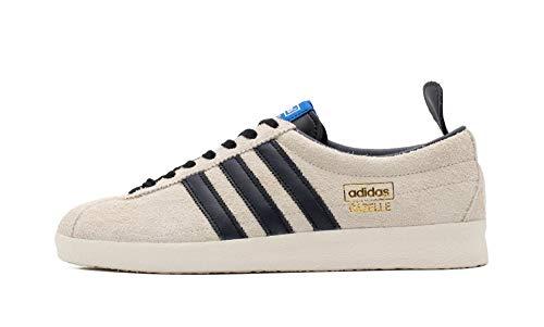 adidas Gazelle Vintage, Zapatillas Deportivas Hombre, Cream White Core Black Blue, 36 EU
