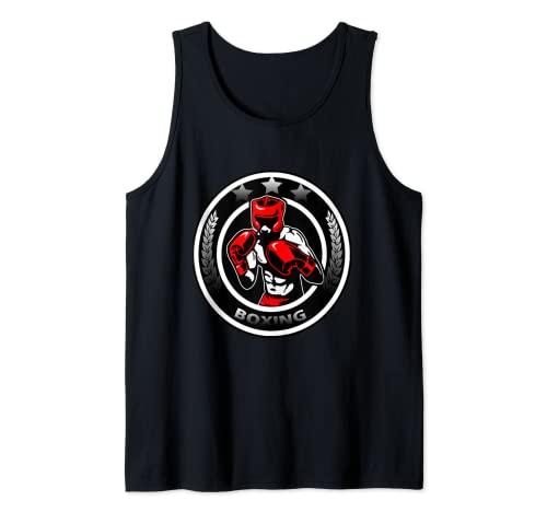Boxeo Combatiente Camiseta sin Mangas