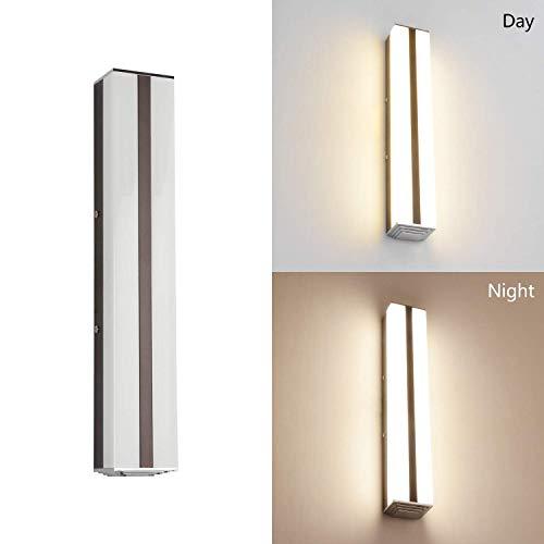 MantoLite LED Wandleuchte Bild Licht,Modern Badezimmer Lampe Nachttisch Leseleuchte Spiegel Leuchte Artwork Beleuchtung Fixture, Rostfreier Stahl Acryl 3 Modi Dimmbar 16W 1120LM 42CM