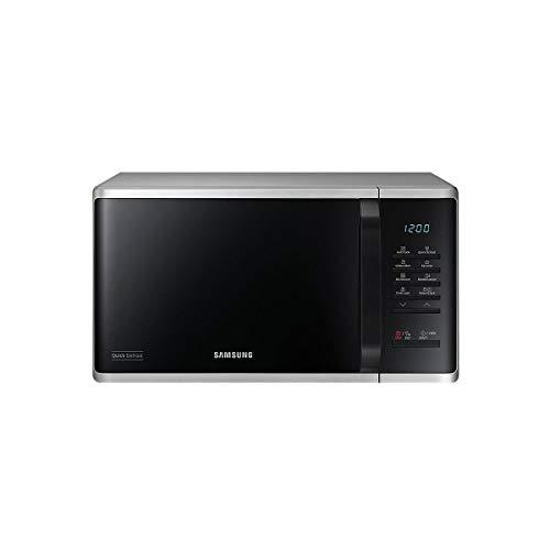 Four à Micro Ondes Samsung MS23K3513AS - Micro-ondes 800 W - capacité 23 litres - 800 W - couleur silver - plateau 28,8 cm