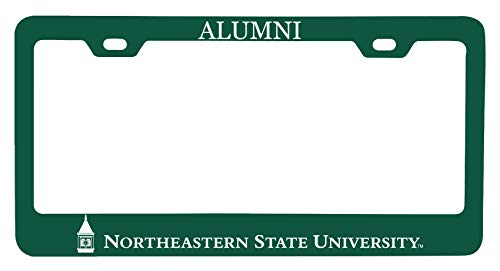 R and R Imports Northeastern State University Riverhawks Alumni License Plate Frame New for 2020