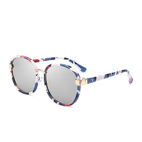 LAMZH Gafas de Sol de Moda de Gafas de Sol Que conducen con Marco Grande clásicos polarizados de Gafas de Sol Accesorios (Color : No.3)