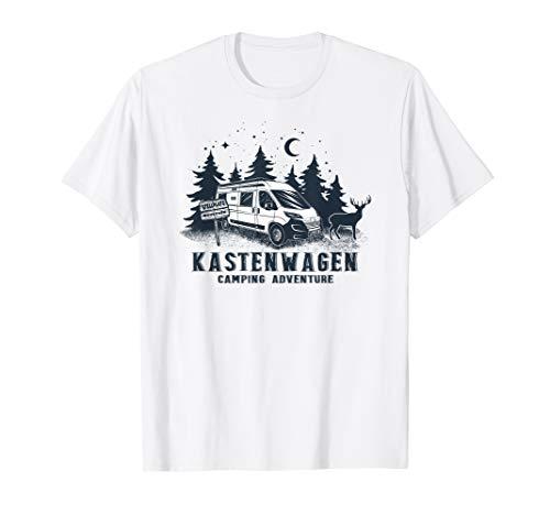 Kastenwagen - Camping Adventure  T-Shirt