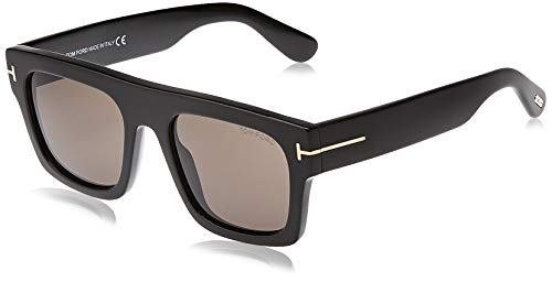 Tom Ford Occhiali da Sole Fausto FT 0711 Black/Smoke Unisex