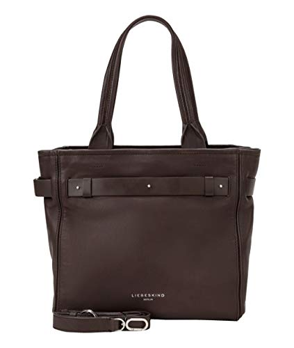 Liebeskind Berlin Handtasche, Soft Bucket Satchel, Medium, dark brown