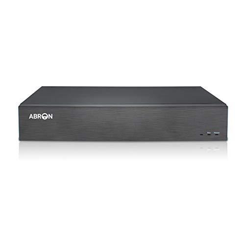 Abronis NVR UltraHD 4K de 16 Canales, Grabadores de vigilancia de Red Profesional de 8MP, Detección de Movimiento, Admite cámaras IP de hasta 16x4K (SIN Disco Duro ni cámaras, sin Puertos PoE)