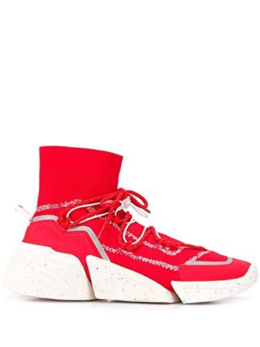 Luxury Fashion | Kenzo Hombre F965SN450F6521 Rojo Zapatillas Altas | Otoño-Invierno 19