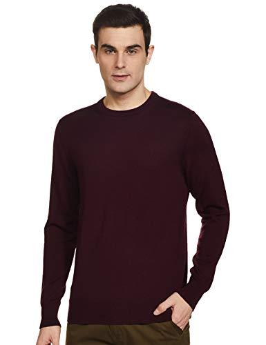 Calvin Klein k10k102727 - Collar para hombre, color burdeos burdeos L