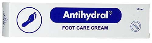 Antihydral Foot Care Cream 50mL/ 1.7 oz Mandarin and Orange Peel Oils and Rosemary Oil. Exfoliator & Moisturizer