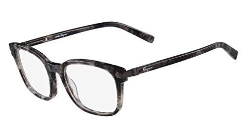 Ferragamo SF2771 Rechteckig Brillengestelle 54, Grau