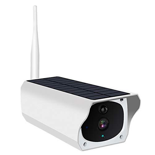 1080P Überwachungskamera/WLAN IP Kamera/wildkamera/Solar IP-Kamera Wireless WiFi, IP67 wasserdicht, Infrarot-Nachtsicht, Solar,PIR,WiFi,Duale Stromversorgung für eine Lange Zeit