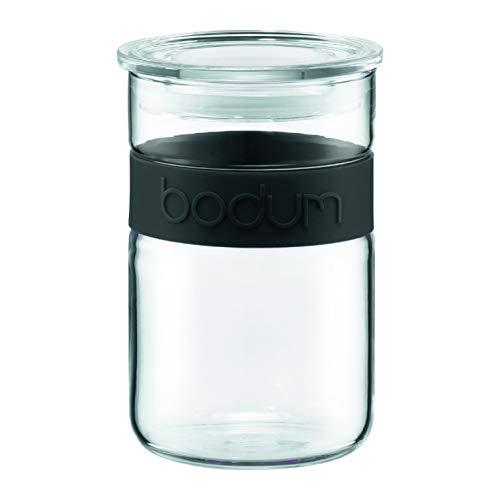 Bodum Presso Barattolo in vetro 0,6 litri, colore: Nero