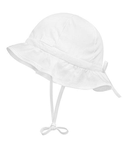 Döll Unisex Baby Binden Sonnenhut, Weiß (bright White 1000), (Herstellergröße: 49)