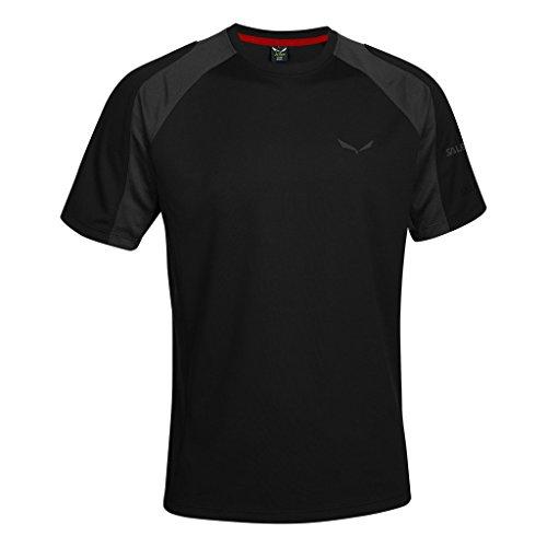 SALEWA - PUEZ (SPORTY B) DRY M S/S TEE T-shirt - S - Noir - Homme