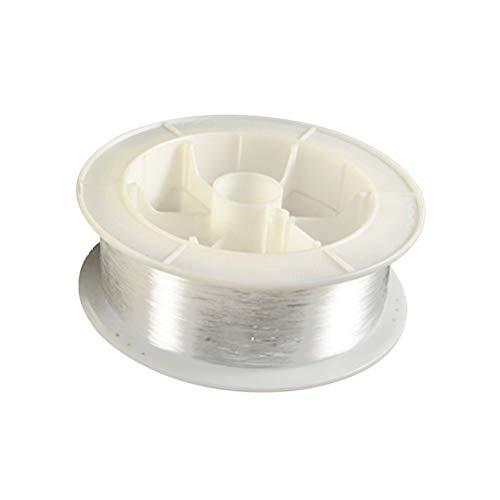 OSALADI Luces de Cable de Fibra óptica Guiado de iluminación de Fibra óptica Luces largas Decoración 0.75mm 100 M