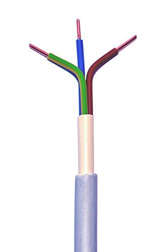 Waskönig-Walter, 5 Elektro Mantelleitung NYM-J 3x2,5mm² 100m Ring (deutsche Markenware) VDE