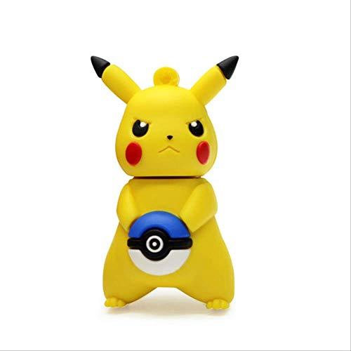 Chiavetta USB di memoria Flash Drive, regalo carino, ad alta velocità, motivo: manga, cartone animato, Pokemon