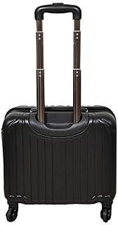 New Travel Luggage Trolly 0036-17 Black Single Pc