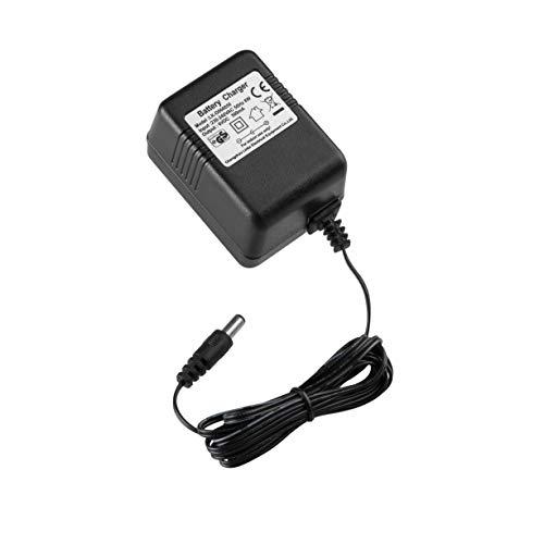 LinkePow Caricabatteria da Auto elettrica per Bambini 6V, Caricabatteria da 6 Volt per Veicoli elettrici