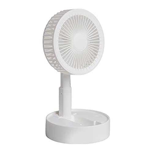 FSLLOVE FANGSHUILIN Mini Ventilador portátil retráctil y Plegable USB Carga de la Herramienta de refrigeración Personal Inteligente para el enfriamiento del hogar y la Oficina de Verano J6PE
